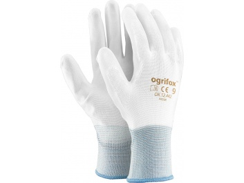PROTECTIVE GLOVES OX.12.442 POLIUR - balts balts