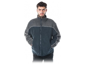 PROTECTIVE INSULATED FLEECE JACKET - zilgani pelēks
