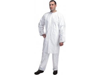LABCOAT MADE OF TYVEK - balts