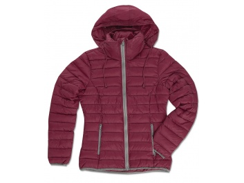 JACKET WOMEN - bordo