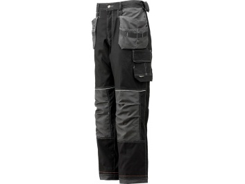 WORKING TROUSERS - melns grafīts