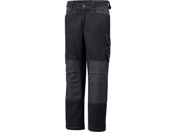 WORKING TROUSERS FOR WOMEN - melns un pelēks