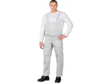 PROTECTIVE BIB-PANTS - balts
