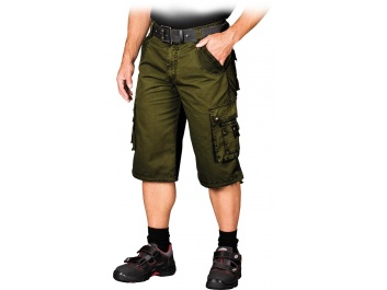 PROTECTIVE SHORT TROUSERS - zaļš