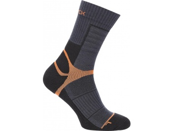 THERMOACTIVE SOCKS - black-orange-graphite