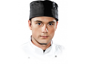 PROTECTIVE CHEF HAT - melns