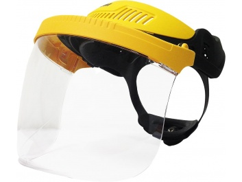FACE SHIELD - dzeltens
